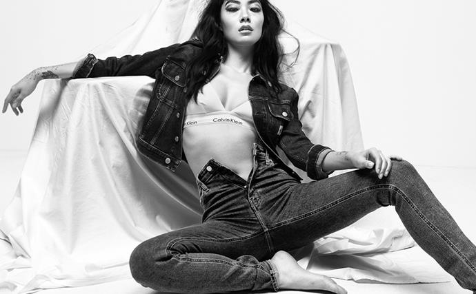 Rina Sawayami Calvin Klein