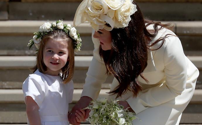 meghan markle flower girl dresses