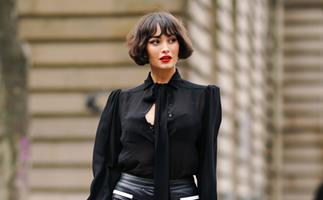 Short hairstyle ideas for women.