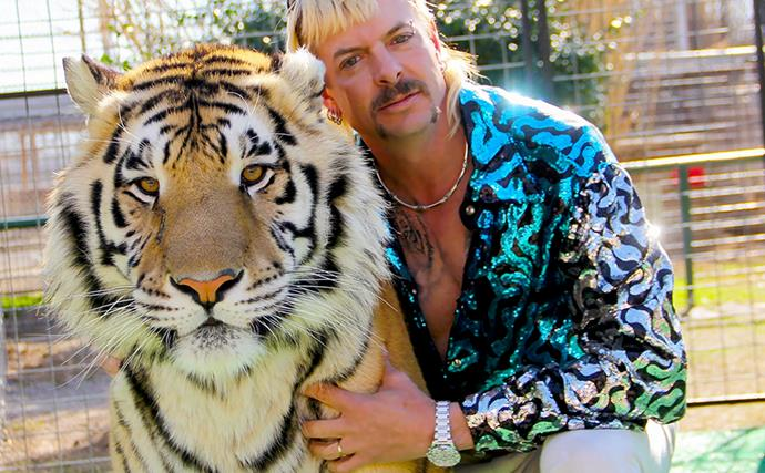 Joe Exotic from Netflix's Tiger King series