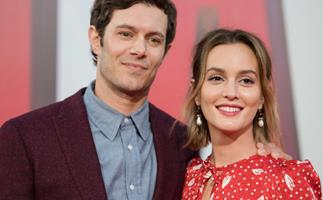 """Cue The Tears, Adam Brody Thought Leighton Meester Was A """"Heavenly Creature"""" When They Met"""