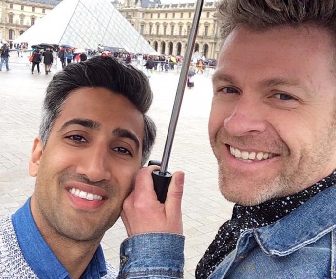 'Queer Eye's' Tan France and his husband Rob France.