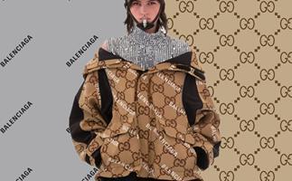 Gucci Balenciaga Aria collab collection
