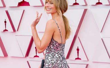 Margot Robbie Debuted A Blunt Fringe At The 2021 Oscars, And Of Course, It's Stunning