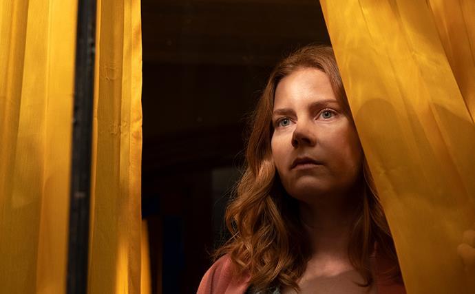 Amy Adams in Woman in The Window from Netflix