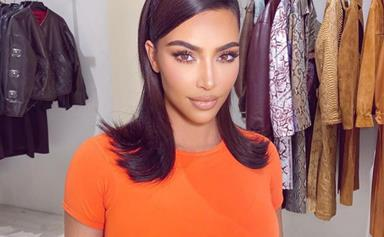 Kim Kardashian Debuted Bleached Brows And Blonde Hair, And Yes, It's Time To See Your Stylist