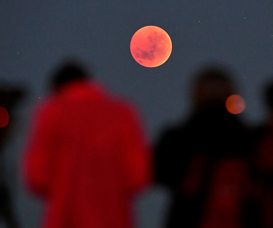 Get Ready To Look To The Skies, A Super Blood Flower Moon Is Headed Our Way