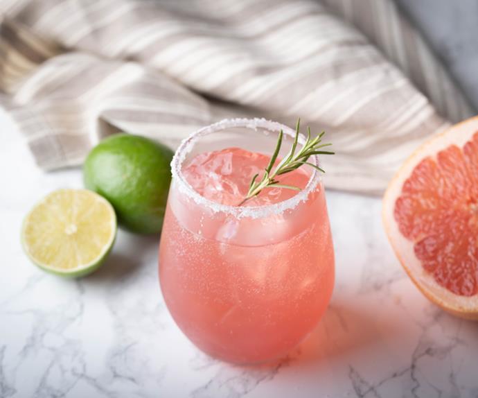 21st century gin cocktail