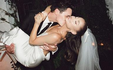 Ariana Grande's Wedding Photos From Her Initimate At-Home Ceremony