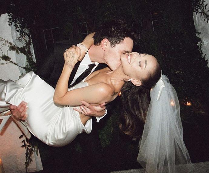 Ariana Grande's wedding photos