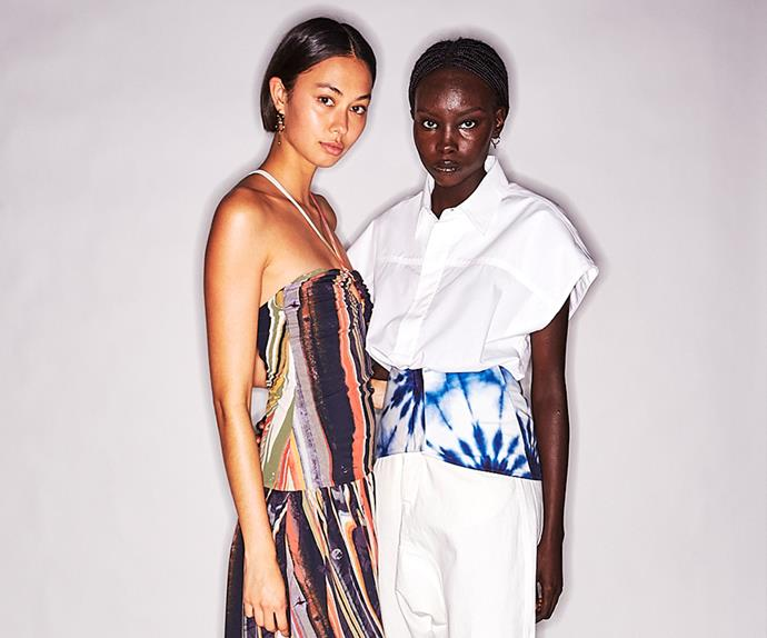 Bassike's Resort 2022 Collection Featured Hindu Mantras And An Invitation To Surrender