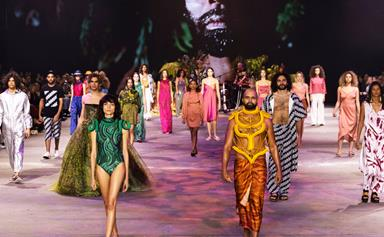 Australian Fashion Week's First All-Indigenous Led Runway Was Nothing Short Of Magical