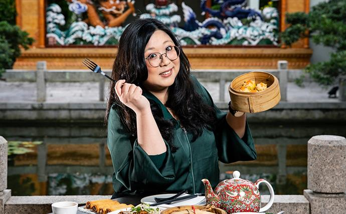 Jennifer Wong: ''The best way to dislodge a fishbone is to take yourself to a food court and get a $7 Chinese meal with a Coke''