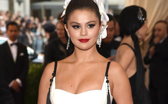 """Selena Gomez Gets Candid On Not Feeling """"Good"""" About Her Body On The Red Carpet"""