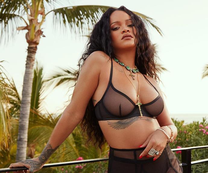 Look Upon Rihanna's Butt-Exposing Leggings And Despair (Or Marvel)