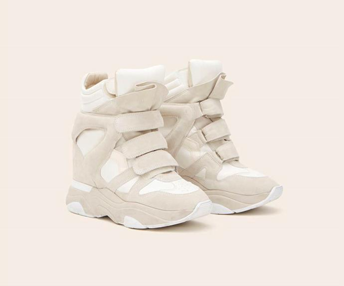 The Isabel Marant Wedge Sneakers Are, Apparently, Back