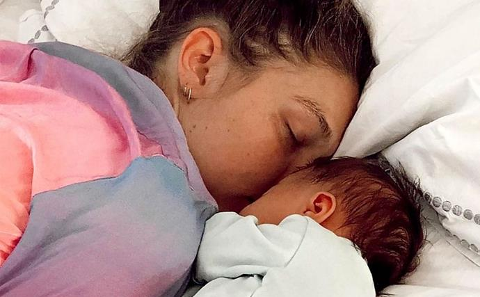 Gigi Hadid Celebrates Zayn's First Father's Day With An Unseen Photo Of Him And Khai