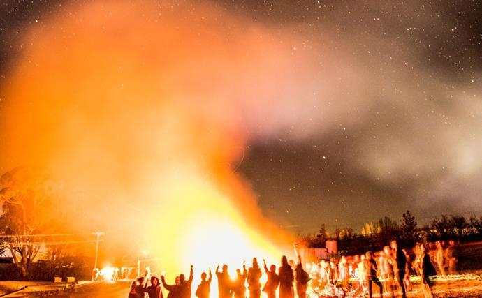 Orange 360 Winter Fire Festival