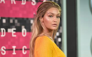 Gigi Hadid Just Revealed Her New (Bright Red!) Hair