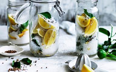How to make preserved lemons