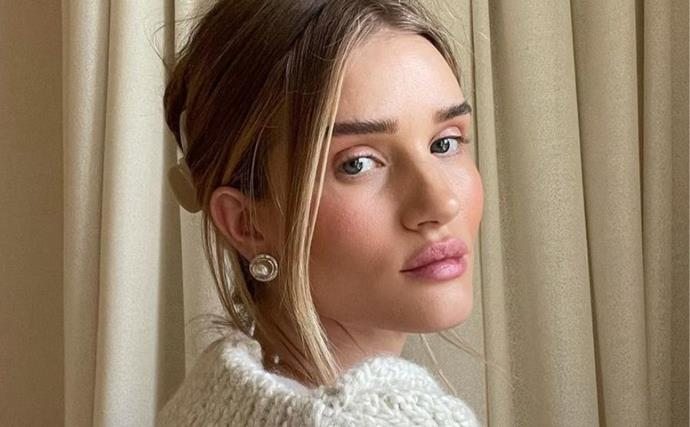 Rosie Huntington-Whiteley Dropped Her Morning Skincare Routine And It Definitely Explains Her Glow