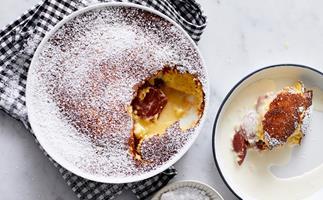 Jaclyn Koludrovic's quince and lemon pudding