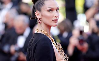 Bella Hadid Just Wore The Most Jaw-Dropping Schiaparelli Couture Piece In Cannes