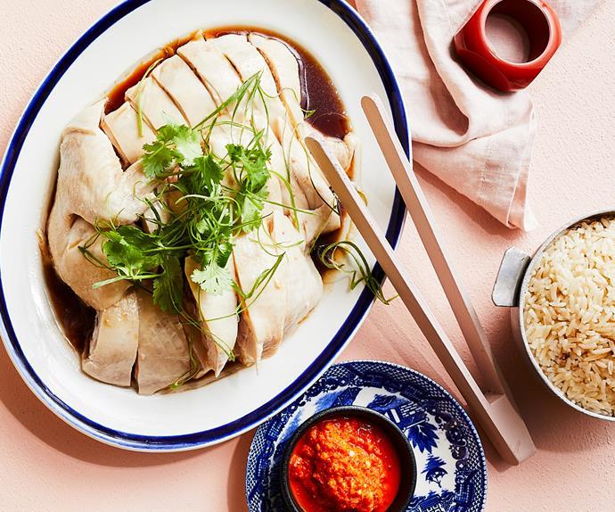 Junda Khoo's Hainanese chicken