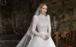 Lady Kitty Spencer Wore Five Breathtaking Dolce & Gabbana Gowns For Her Wedding