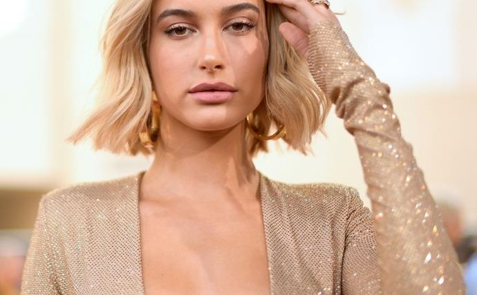 Hailey Bieber Has Taken Black Tie Dressing To Another Level In This Sheer Lace Gown