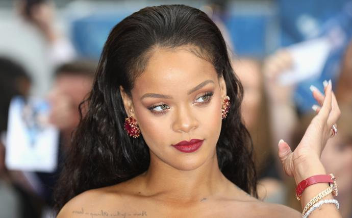 Rihanna Just Debuted A Sleek New Haircut With Sideburns, And It's A Whole Vibe