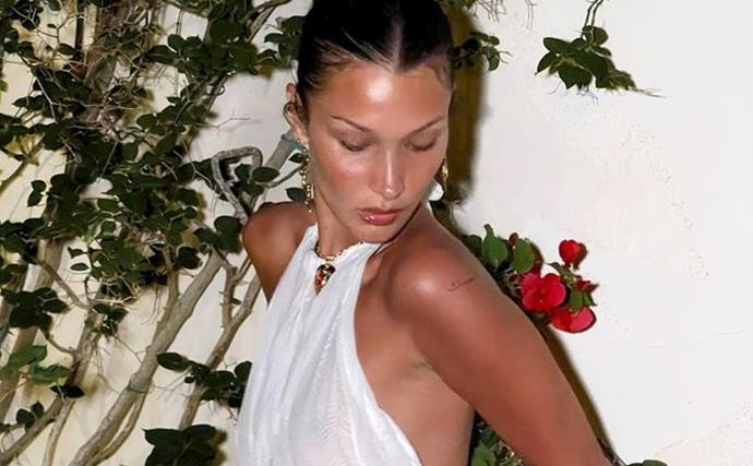 Bella Hadid Is Single-Handedly Making Us Want To Buy A Sheer Dress Immediately