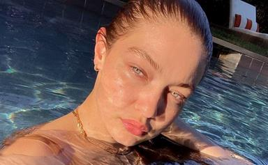 Gigi Hadid Just Shared A New (And Very Rare) Glimpse Of Her Baby Daughter, Khai