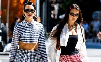 Bella Hadid & Dua Lipa's Latest Outing Together Was Yet Another Style Lesson In Y2K Fashion