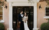 This Couple Planned A Luxurious Micro-Wedding Mid-Pandemic And It Was As Magical As It Was Chic