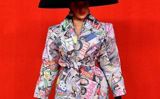 Mainstream Comedy Gets A High Fashion Makeover At Balenciaga's Spring Summer 2022 Show