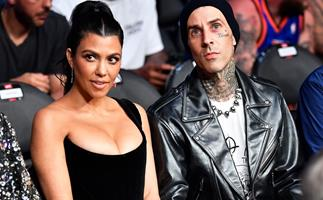 From Friends To Fiancées, Here's The Complete Love Story Of Kourtney Kardashian And Travis Barker