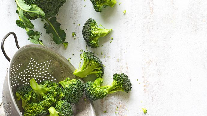 In season with Food magazine: broccoli