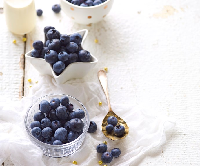 In season with Food magazine: blueberries
