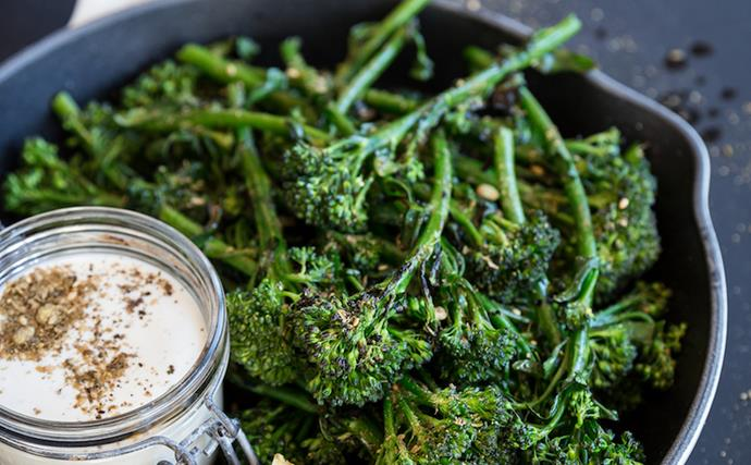 The Backyard Cook's best barbecue tips and charred broccolini