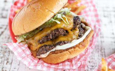 The Backyard Cook's smash burgers