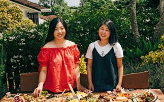 Ying Liu & Grace Ng of Platter and Graze
