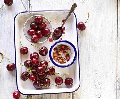 In season with Food magazine: cherries