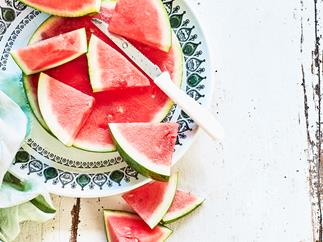 In season with Food magazine: watermelon