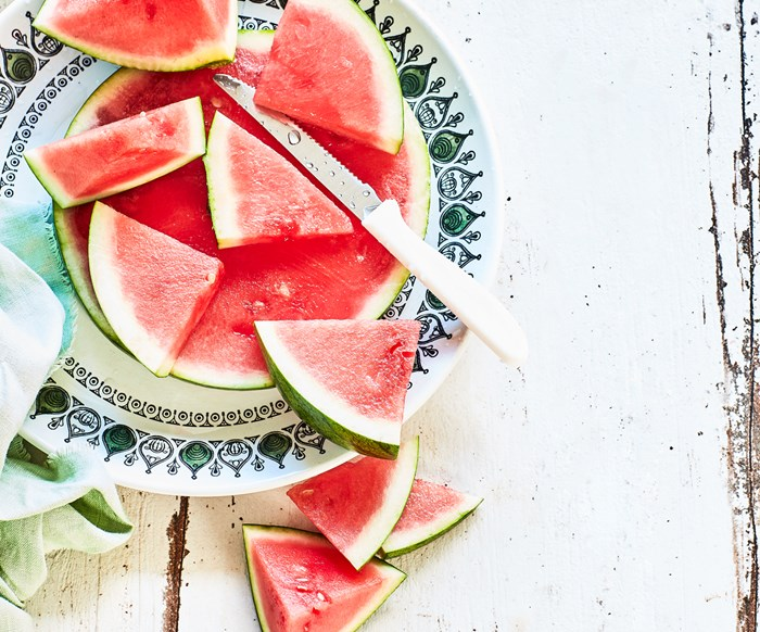 In season with Food magazine: watermelon
