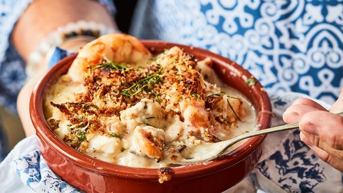 Easy seafood mornay