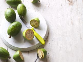 In season with Food Magazine: Feijoa