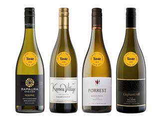 The best chardonnays from Taste's Top Wine Awards 2019