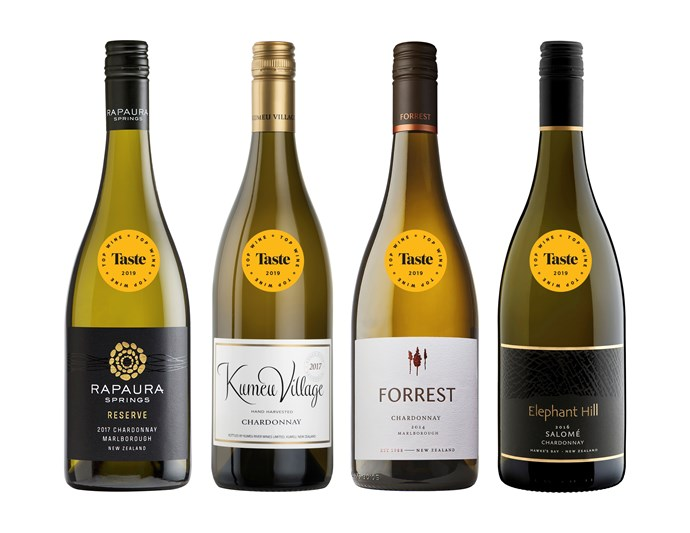 The best chardonnays from Taste's Top Wine Awards 2019