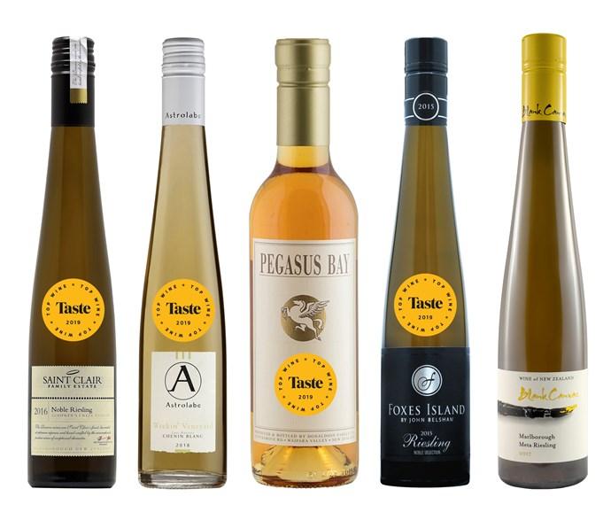 The best sweet wines from Taste's Top Wine Awards 2019